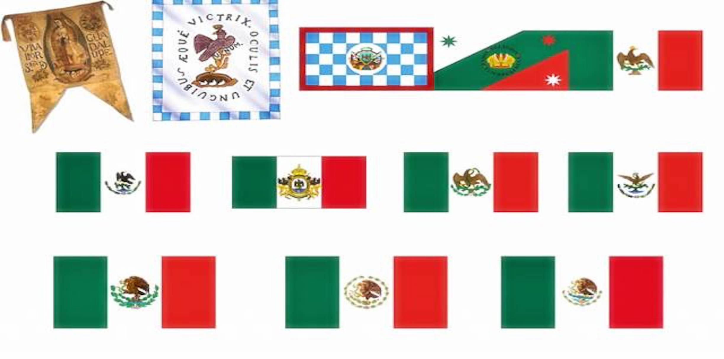 La Bandera de México: significado y evolución (infografía)