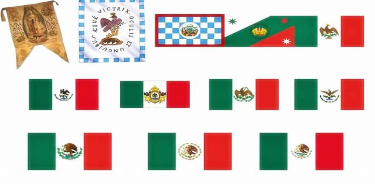 La Bandera De México: Significado Y Evolución (infografía