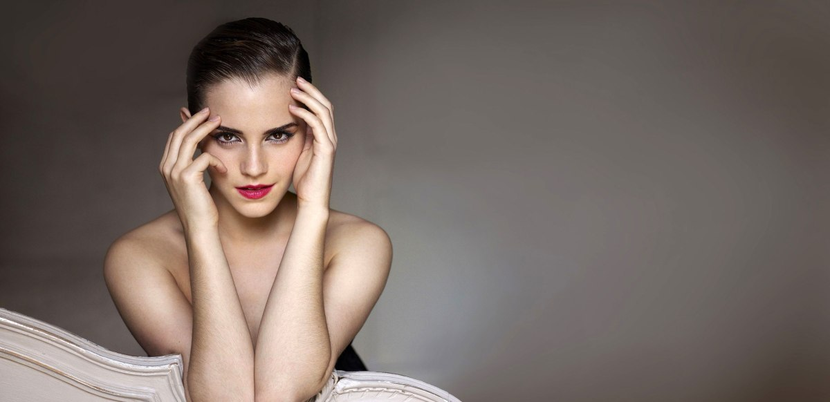 Se filtran fotos de Emma Watson desnuda