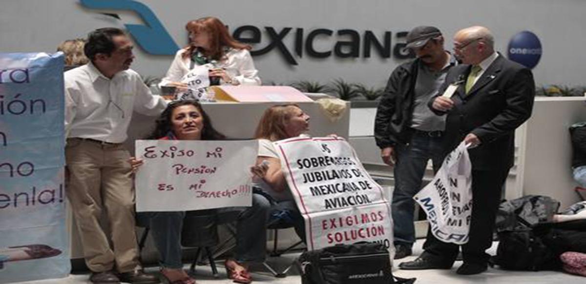 Trabajadores de Mexicana de Aviación llegan a acuerdo de liquidación