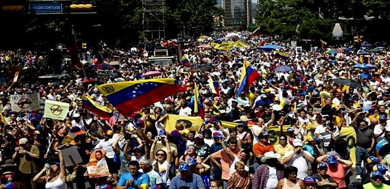 marcha venezuela archivo portada