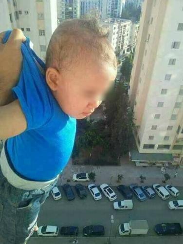 bebé precipicio 20 junio