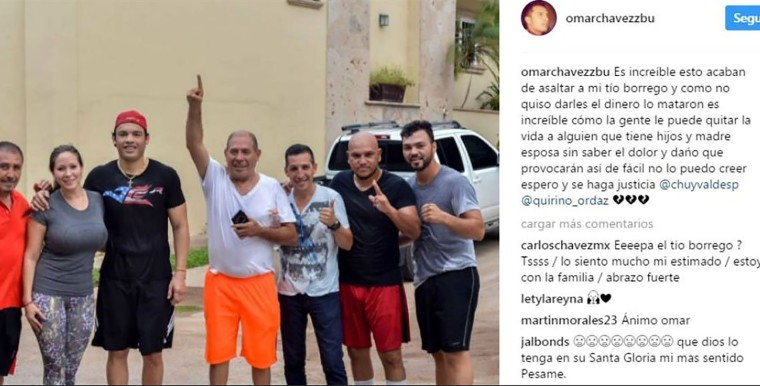 Matan al hermano del boxeador Julio César Chávez