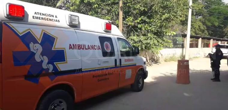 Ambulancia-Acapulco-riña-en-penal