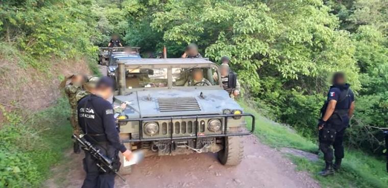Policías-de-Michoacán-Patrullaje-Ranchería