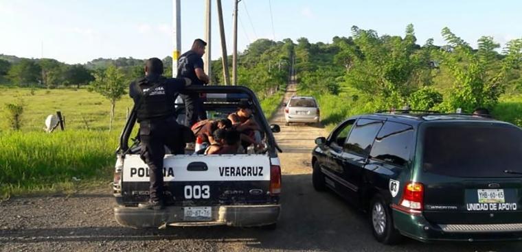 ubican a cuatro centroamericános abandonados en tantima veracruz