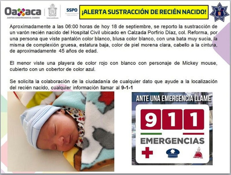 Oaxaca-bebé-hospital