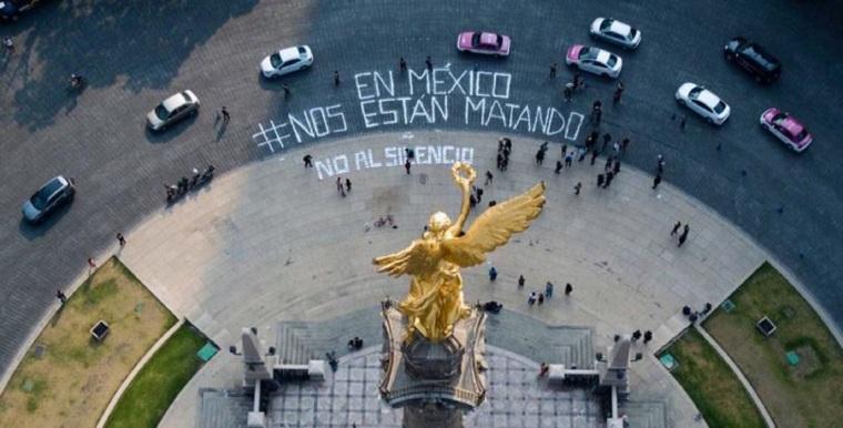 Asesinan-a-Javier-Valdez-manifestación-en-el-Ángel-de-la-Independencia-768x391