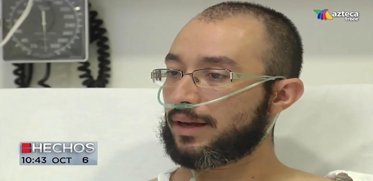 Sergio Iván Castillo, sobreviviente al #sismo busca empezar de cero