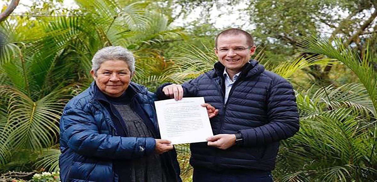 #Elecciones2018 Ricardo Anaya ( @RicardoAnayaC ) dará donativo por generar huella de carbono