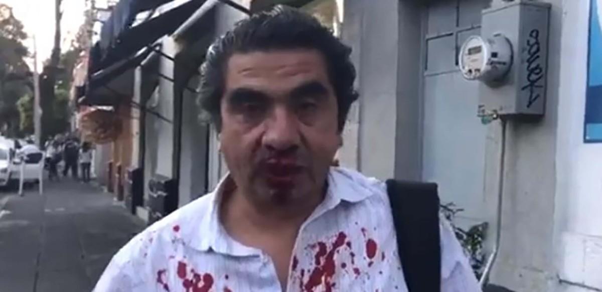 #Salvajismo #Video Perredistas de Coyoacán golpean a periodistas y dirigencias callan