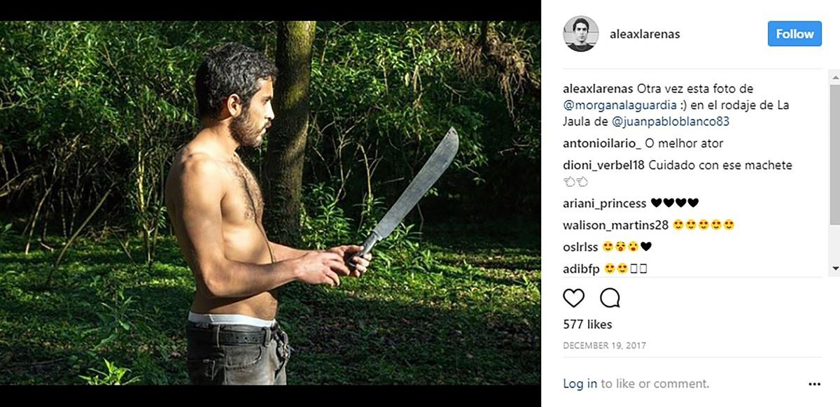 Detienen al actor Alejandro Axel Arenas por homicidio de scort