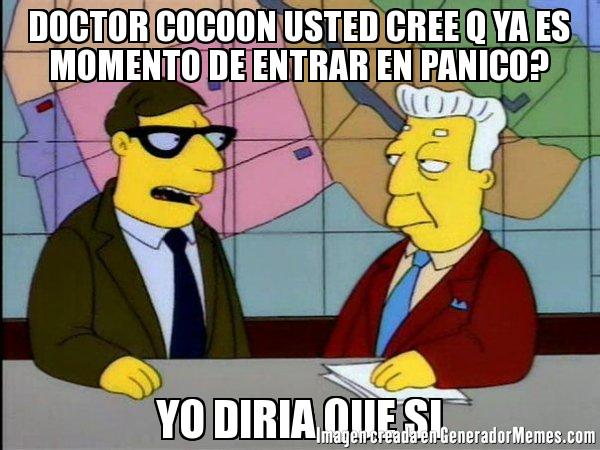simpsons dr cocoon