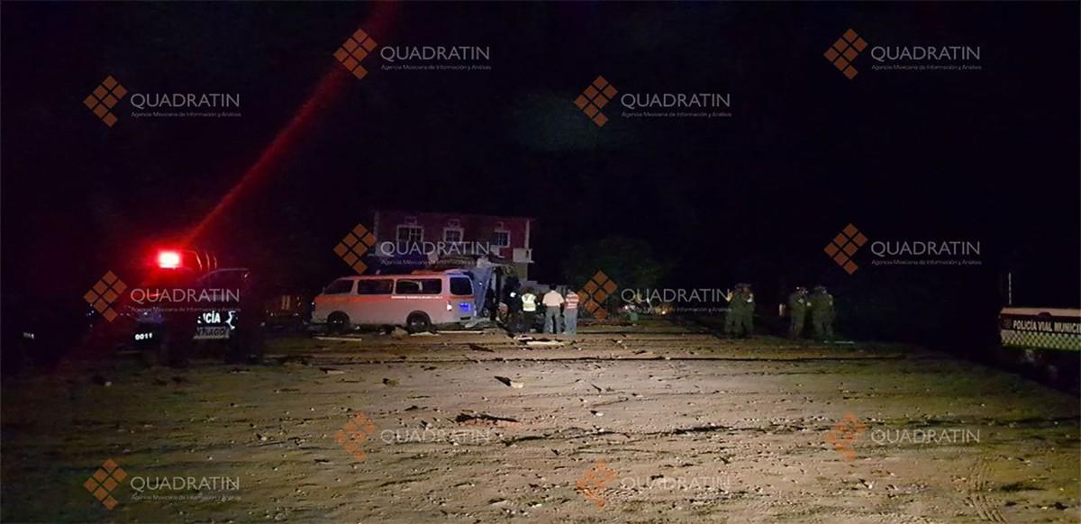 Van 11 muertos por caída de helicóptero, nueve adultos y 2 menores