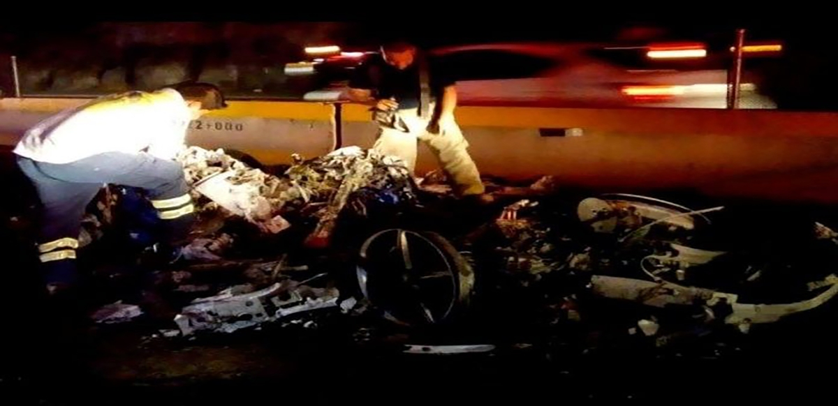 Es Iván Borbolla, el conductor del Ferrari que se estrelló en Autopista del Sol