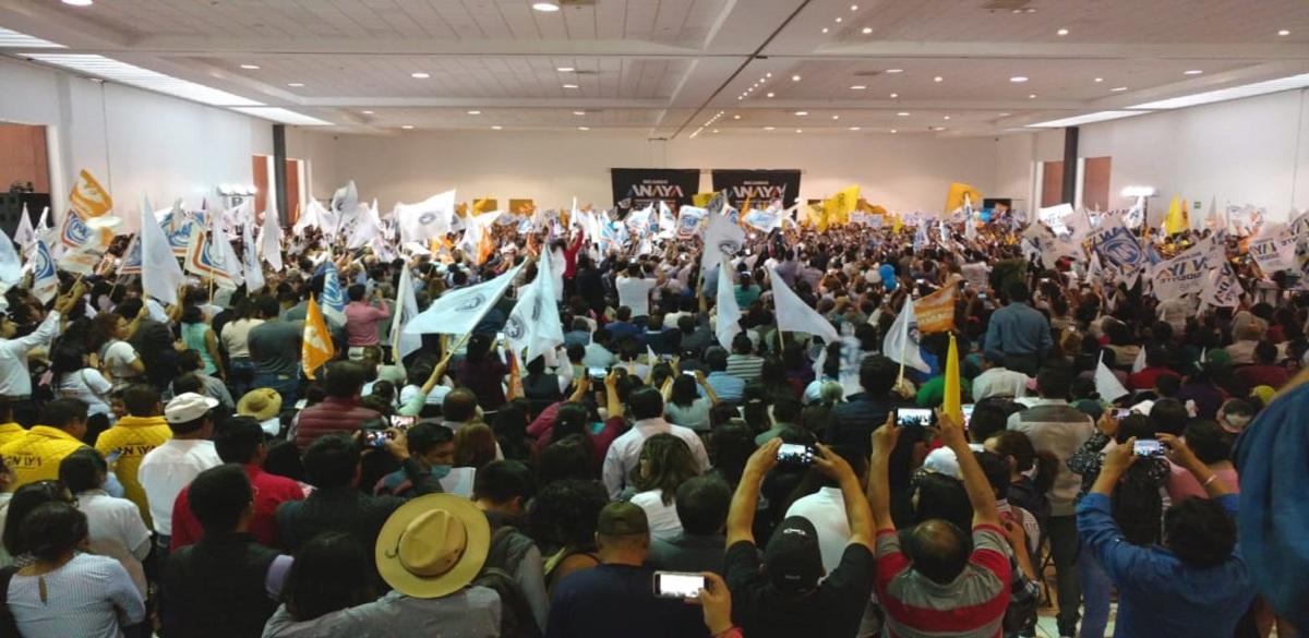#Elecciones2018 Seguridad y lucha contra 'huachicoleo': promesas de Anaya en Tlaxcala