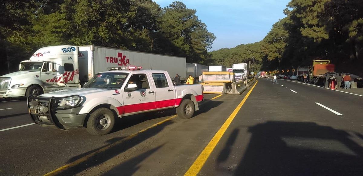 México-Cuernavaca sería reabierta hasta las 17 horas